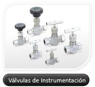 Válvulas de instrumentación